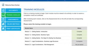 training-mod