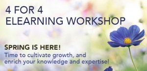 4 for 4 – ELEARNING WORKSHOP